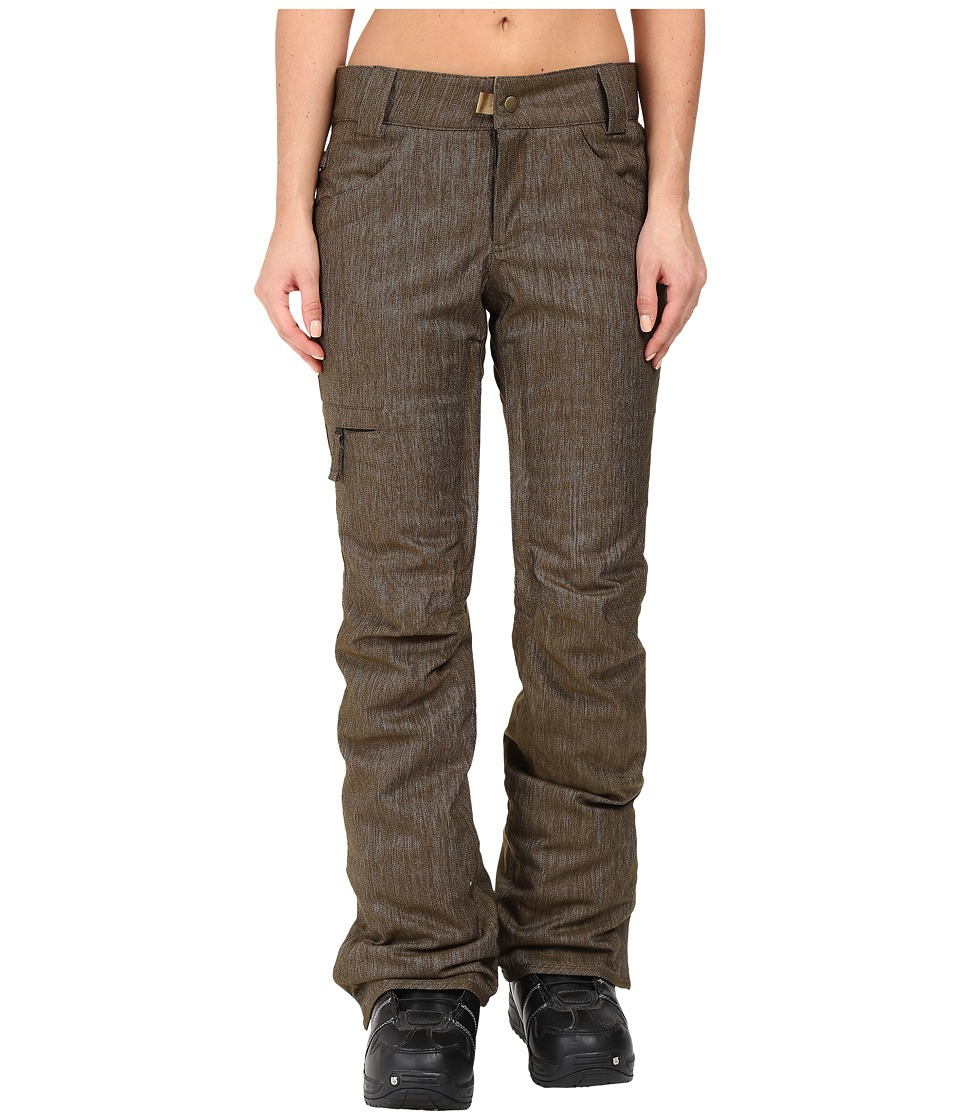 686 - Authentic Patron Insulated Pants (Olive Denim) Women's Casual Pants