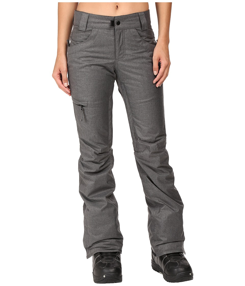 686 - Authentic Patron Insulated Pants (Steel Melange) Women's Casual Pants