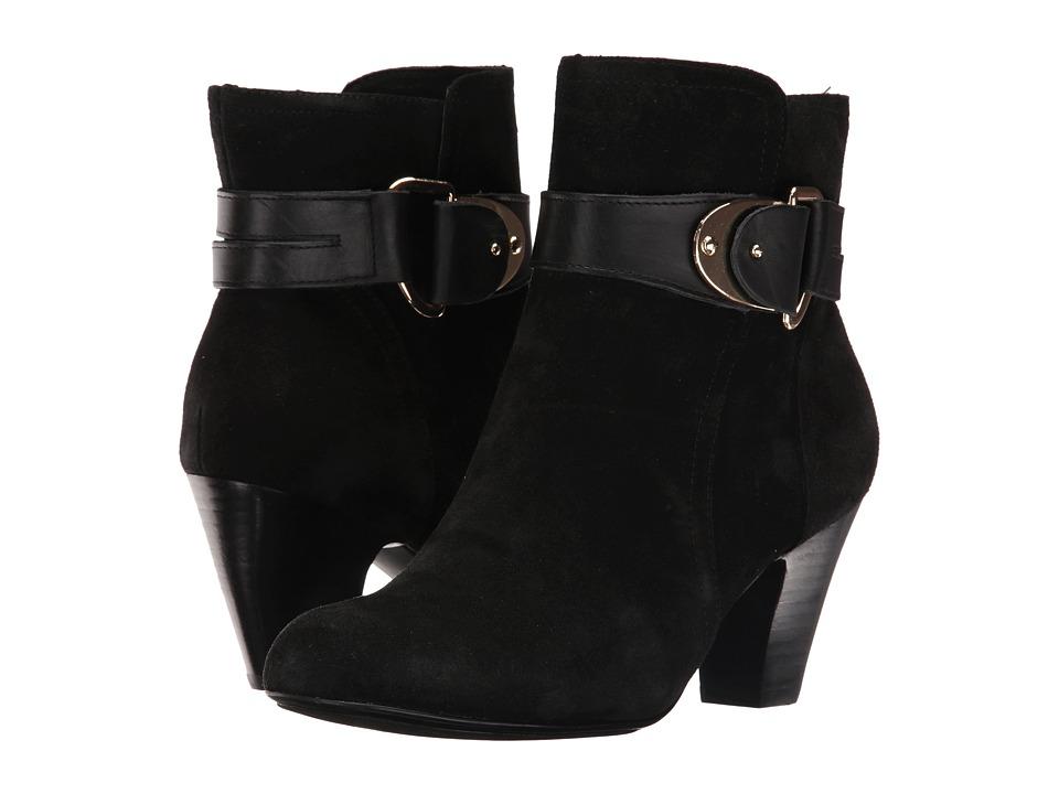 Sofft - Nadra (Black Alaska Suede) Women's Boots