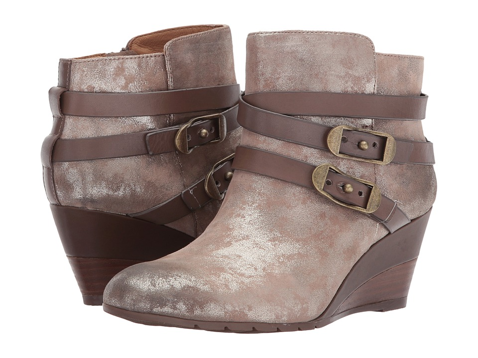 Sofft Oakes (Anthracite Distress Foil Suede) Women