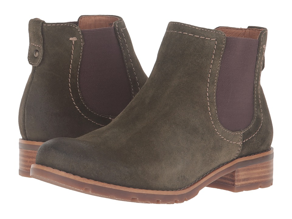 Sofft - Selby (Olive Alaska Cow Suede) Women's Boots