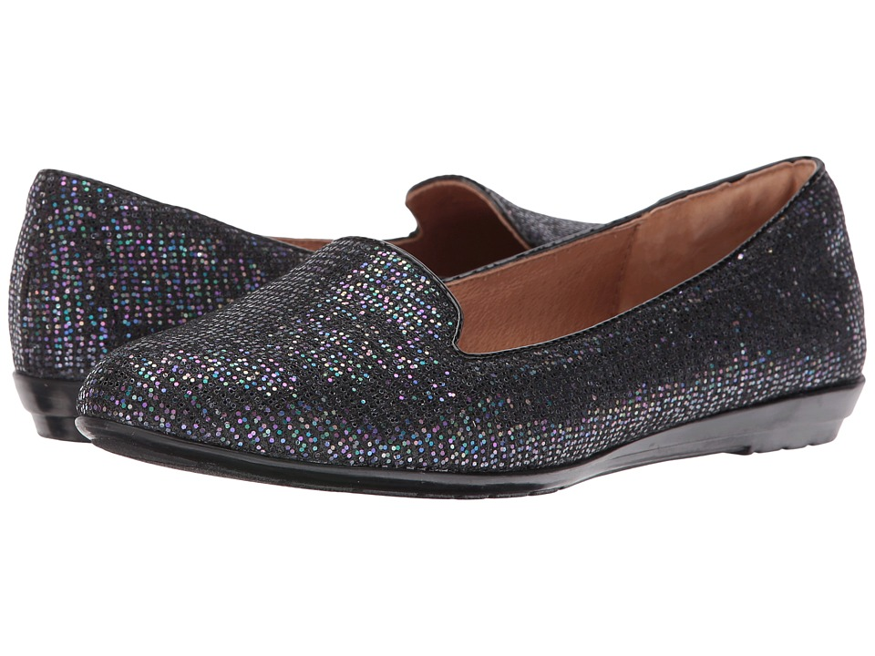 Sofft - Belden (Metallic Multi/Black Multi Glitter/Patent) Women's Flat Shoes