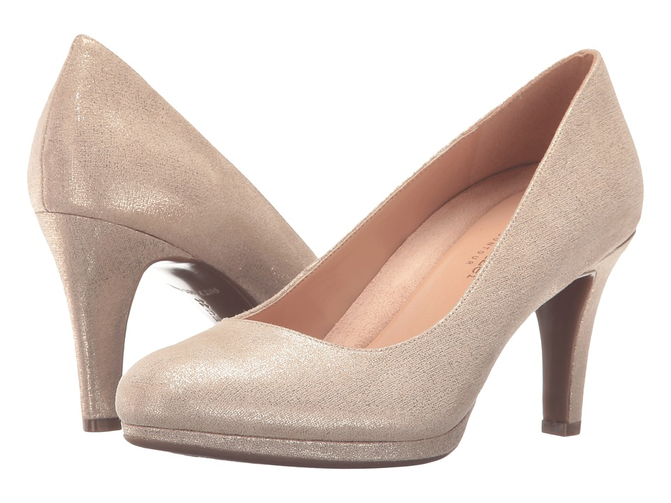 Naturalizer - Michelle (Taupe/Gold Metallic) High Heels