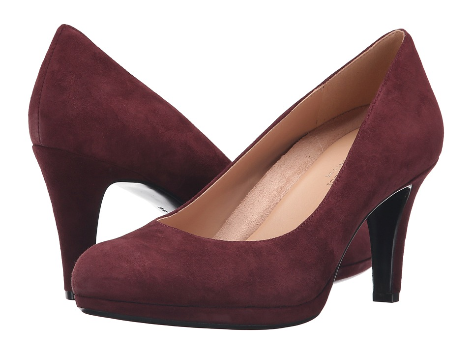Naturalizer - Michelle (Bordo Suede) High Heels