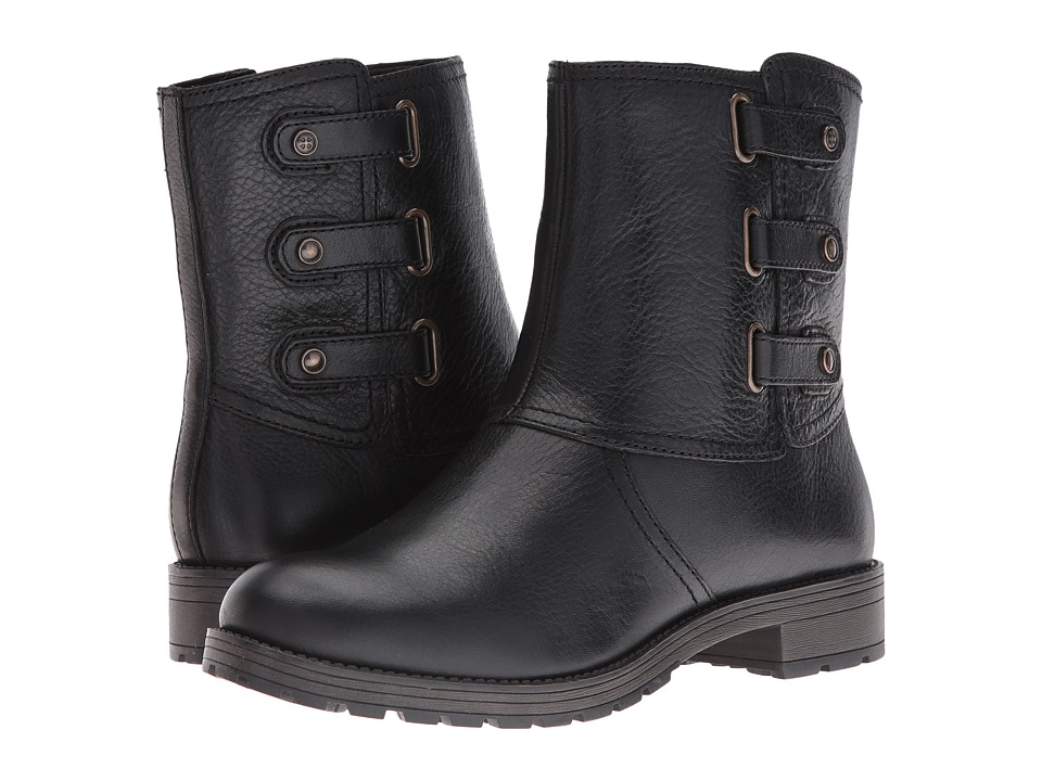 Naturalizer - Tynner (Black Leather) Women's Boots