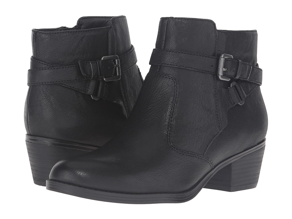 Naturalizer - Zakira (Black Leather) Women's Boots