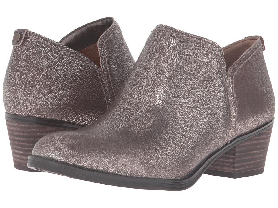 Naturalizer - Zarie (Dark Brown Bronze Metallic Leather) Women's Boots