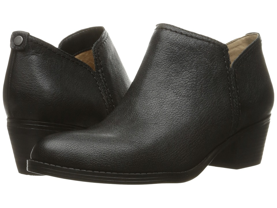 Naturalizer - Zarie (Black Leather) Women's Boots