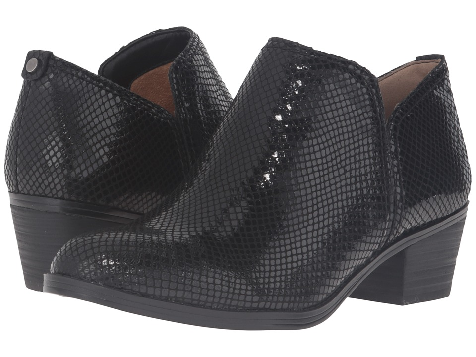 Naturalizer - Zarie (Black Printed Snake) Women's Boots
