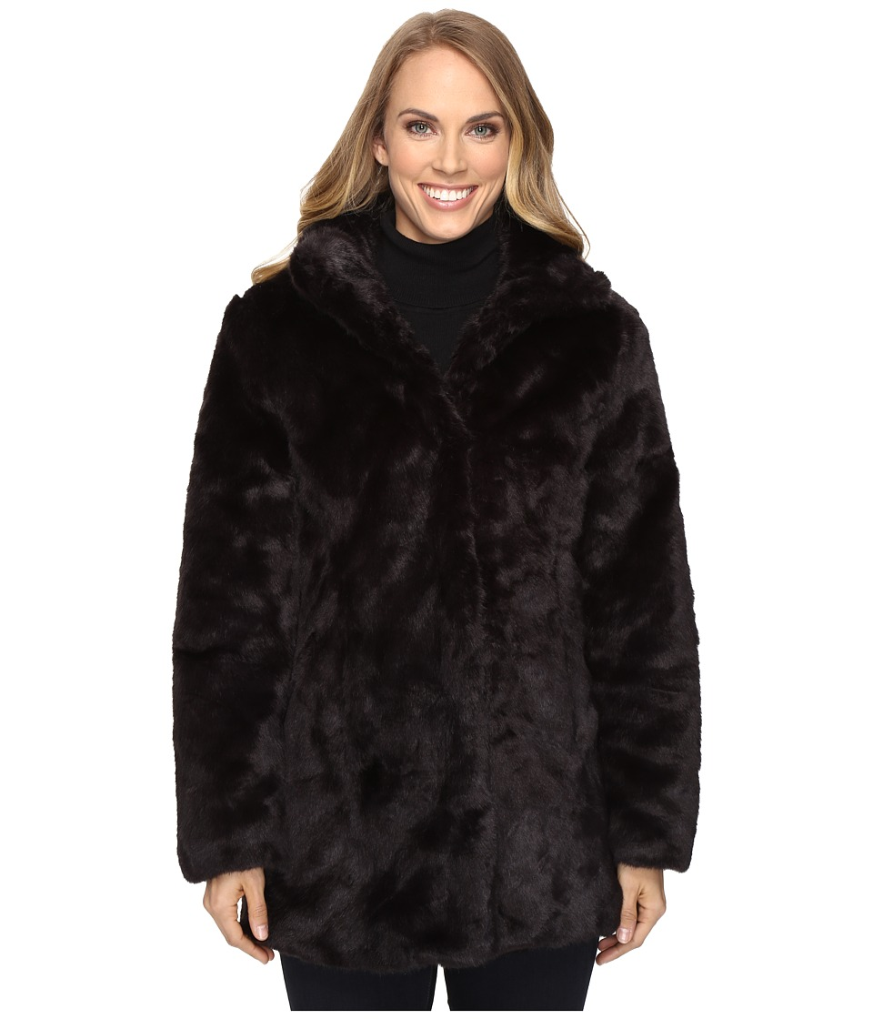 Ariat - Lux Fur Jacket (Black) Women's Coat