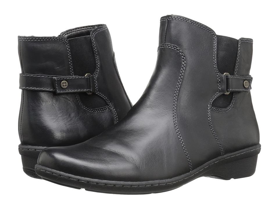 Naturalizer - Rylen (Black Leather) Women's Boots