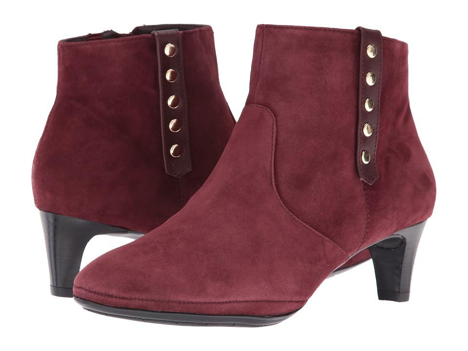 Comfortiva - Tacoma (Vermillian Red/Merlot) Women's Boots