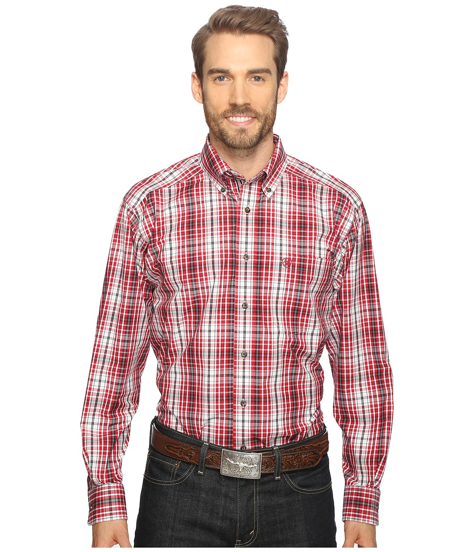 Ariat - Thorpe Shirt (Rouge) Men's Long Sleeve Button Up