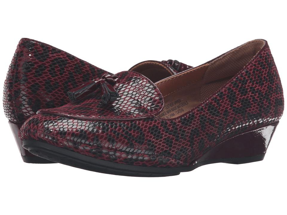 Comfortiva - Ashten (Merlot) Women's Wedge Shoes