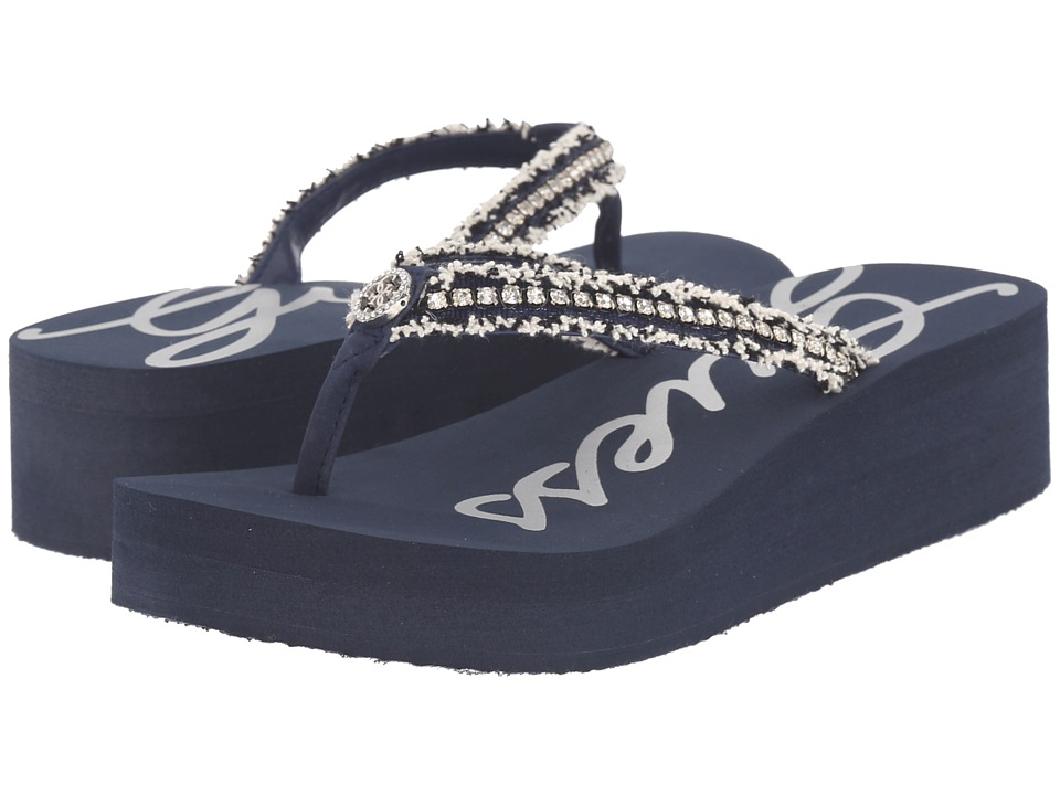 GUESS - Eaves (Navy EVA) Women's Sandals
