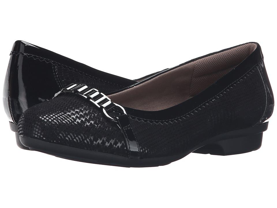 Comfortiva - Madeira (Black) Women's Slip on Shoes