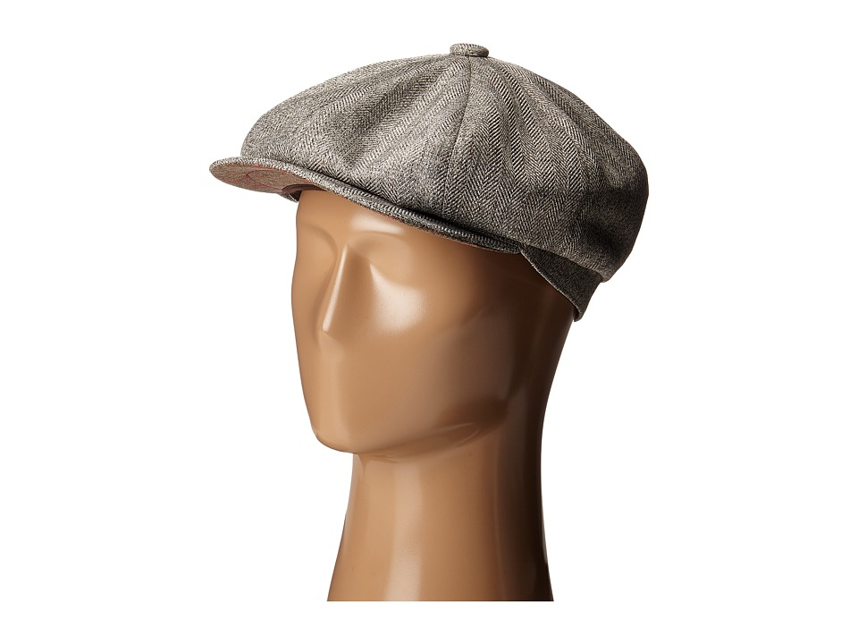 Stetson - Marbled Herringbone 8/4 Cap (Taupe) Caps