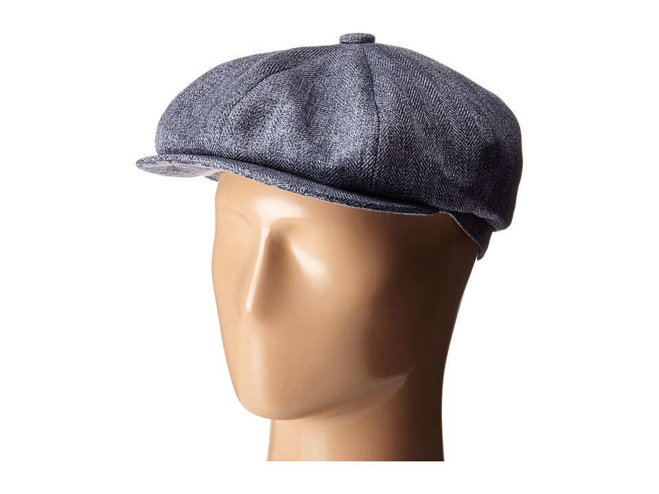Stetson - Marbled Herringbone 8/4 Cap (Blue) Caps