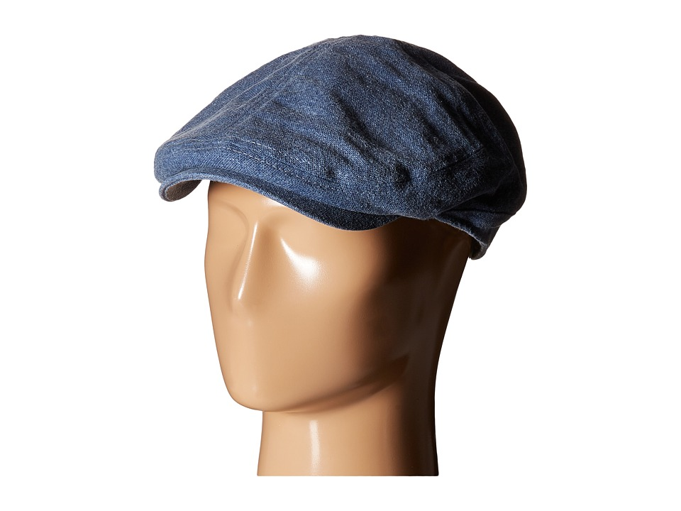 Stetson - Linen Blend Ivy Cap (Blue) Caps