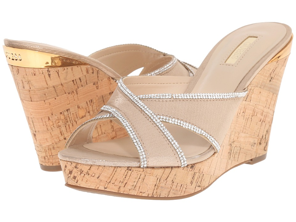 GUESS - Eleonora (Gold Fabric) Women