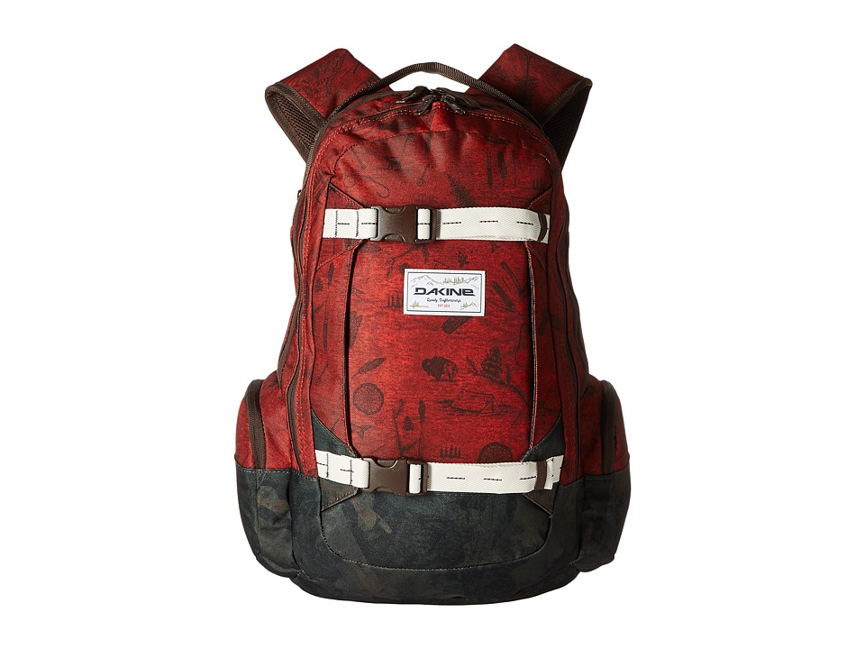 Dakine - Mission Backpack 25L (Northwoods) Backpack Bags