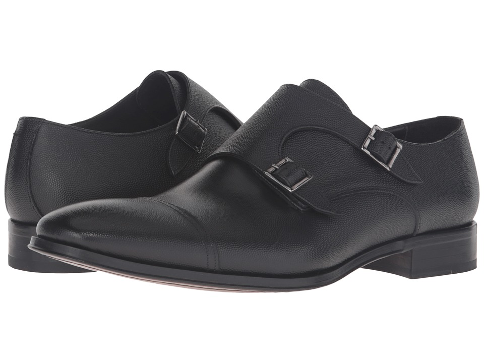 To Boot New York Grant (Black Pebbled Leather) Men