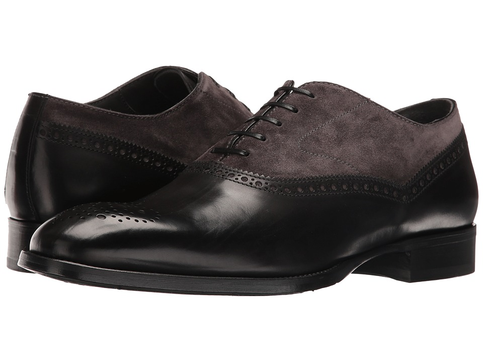 To Boot New York - Sterling (Black/Grey) Men's Shoes