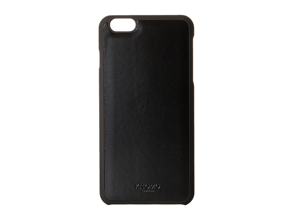 KNOMO London - Magnet Open Face iPhone 6/6s Plus Case (Black) Cell Phone Case