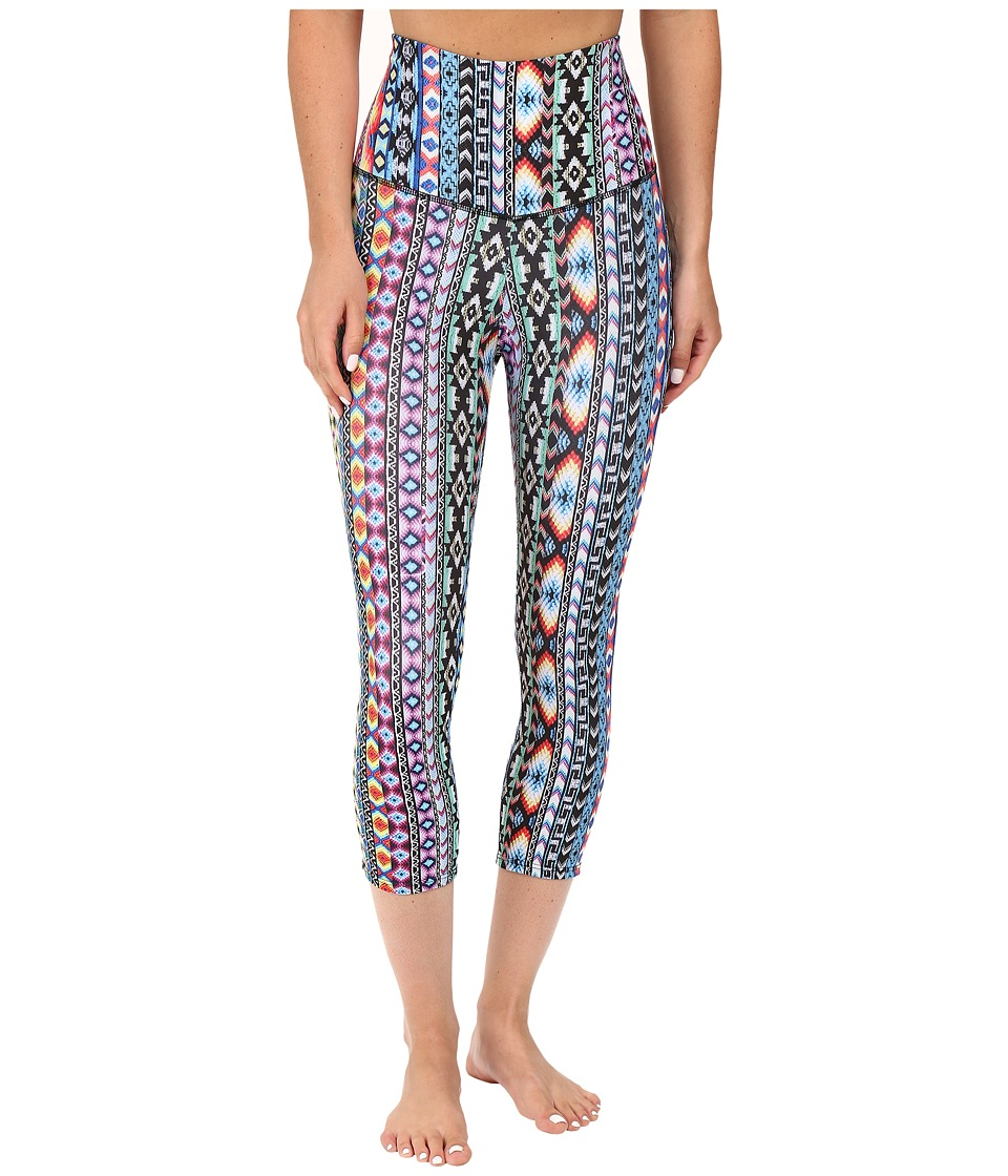 Onzie - High Rise Friendship Capris (Friendship) Women's Capri