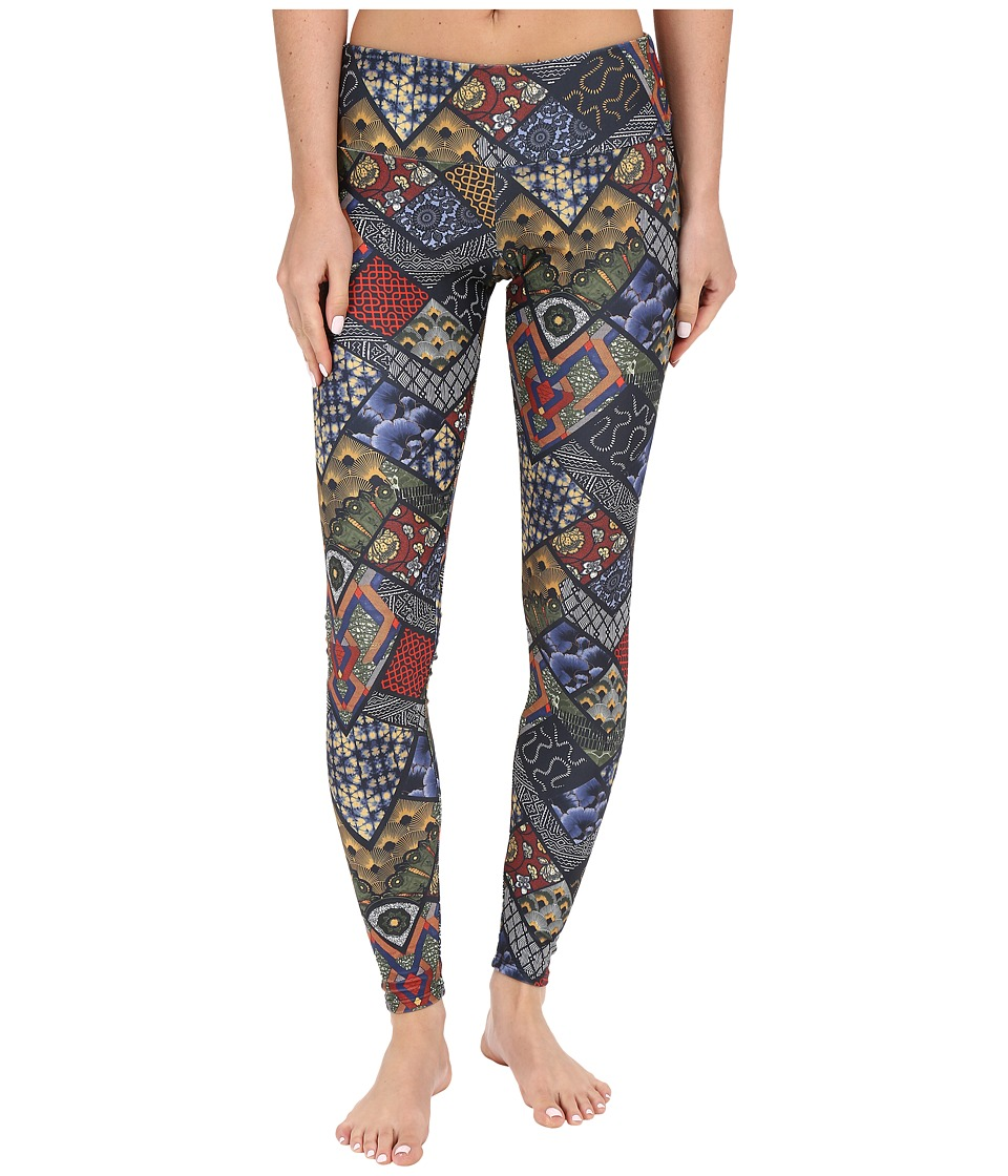 Onzie - Navy Queen Long Leggings (Navy Queen) Women's Casual Pants