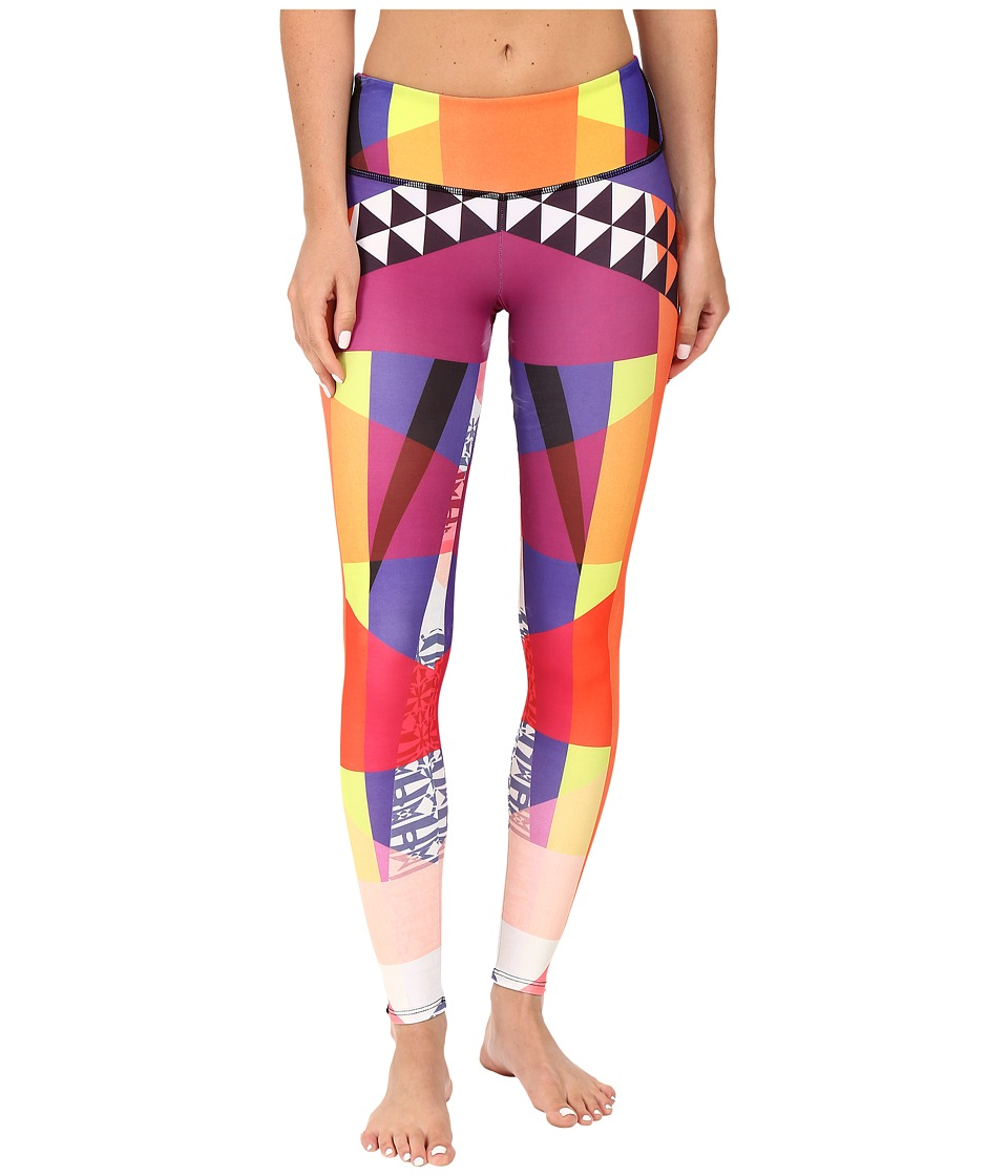 Onzie - Fancy Graphic Leggings (Fancy) Women's Casual Pants
