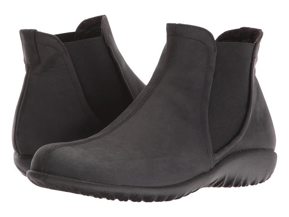 Naot Footwear - Remana (Oily Coal Nubuck) Women's Boots