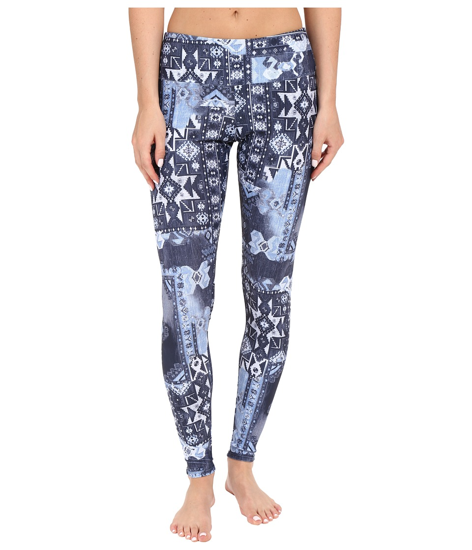 Onzie - Azul Long Leggings (Azul) Women's Casual Pants