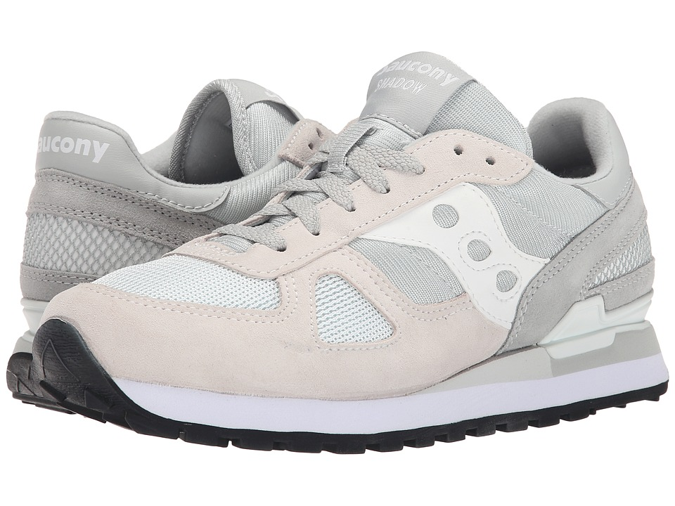 Saucony Originals - Shadow Original (Grey/White) Men's Lace up casual Shoes