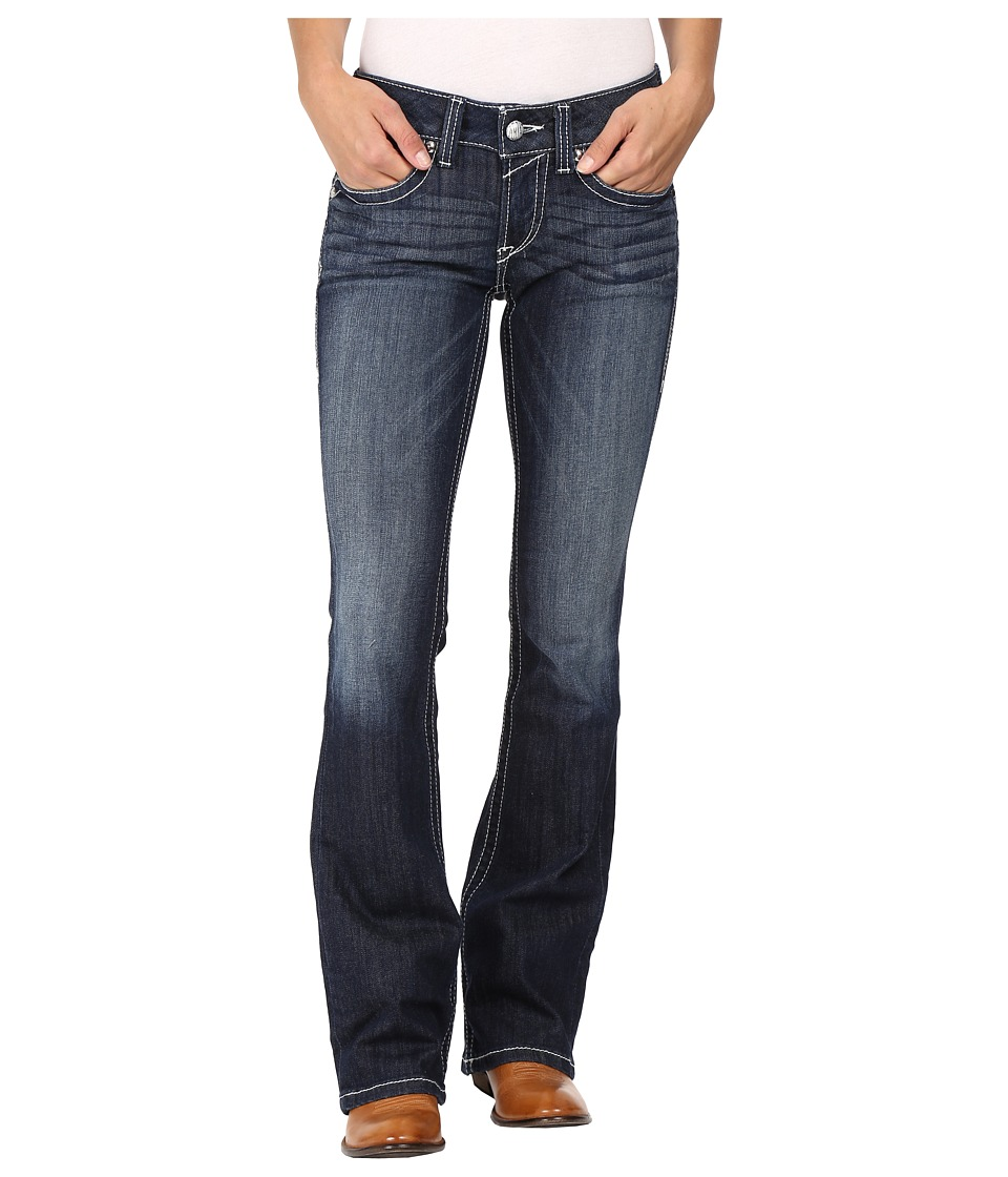 Ariat - R.E.A.L. Bootcut Rosey Whipstitch Jeans in Lakeshore (Lakeshore) Women's Jeans