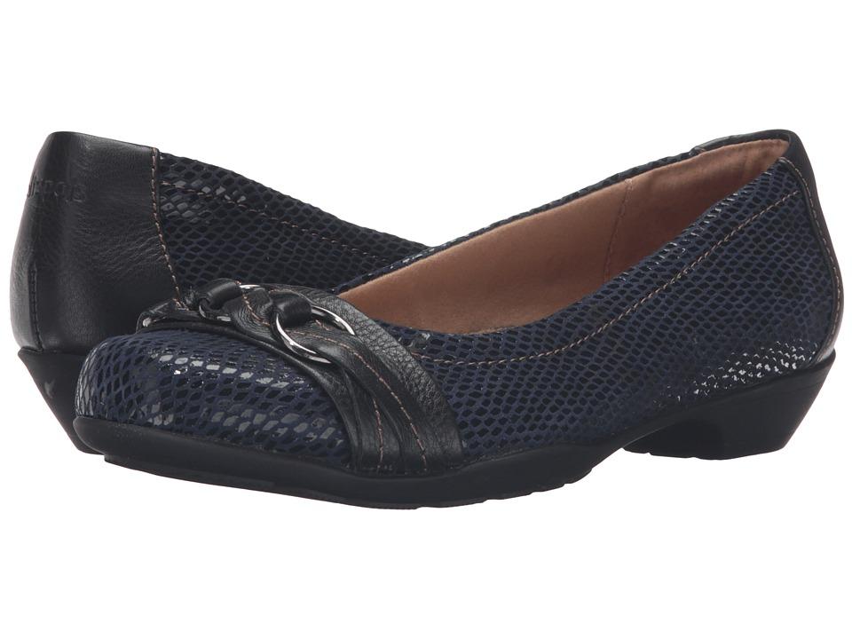 Comfortiva - Posie - Soft Spots (Peacoat Navy/Black) Women's Slip on Shoes