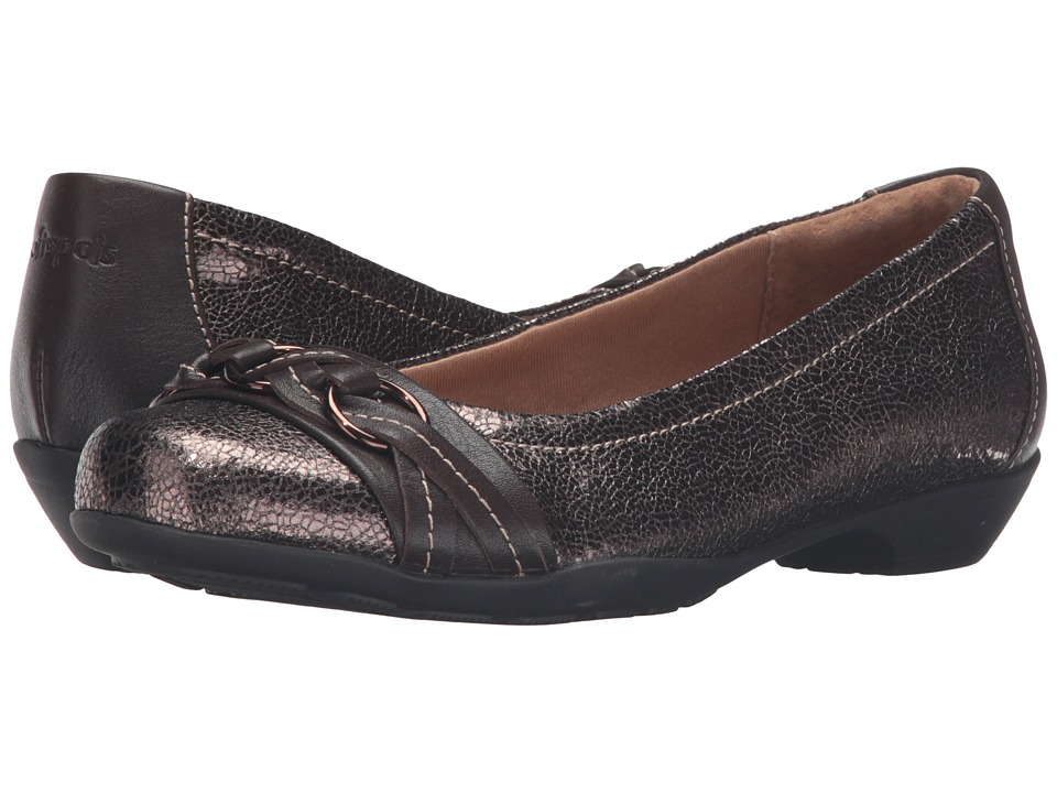 Comfortiva - Posie - Soft Spots (Copper/Brownwood) Women's Slip on Shoes