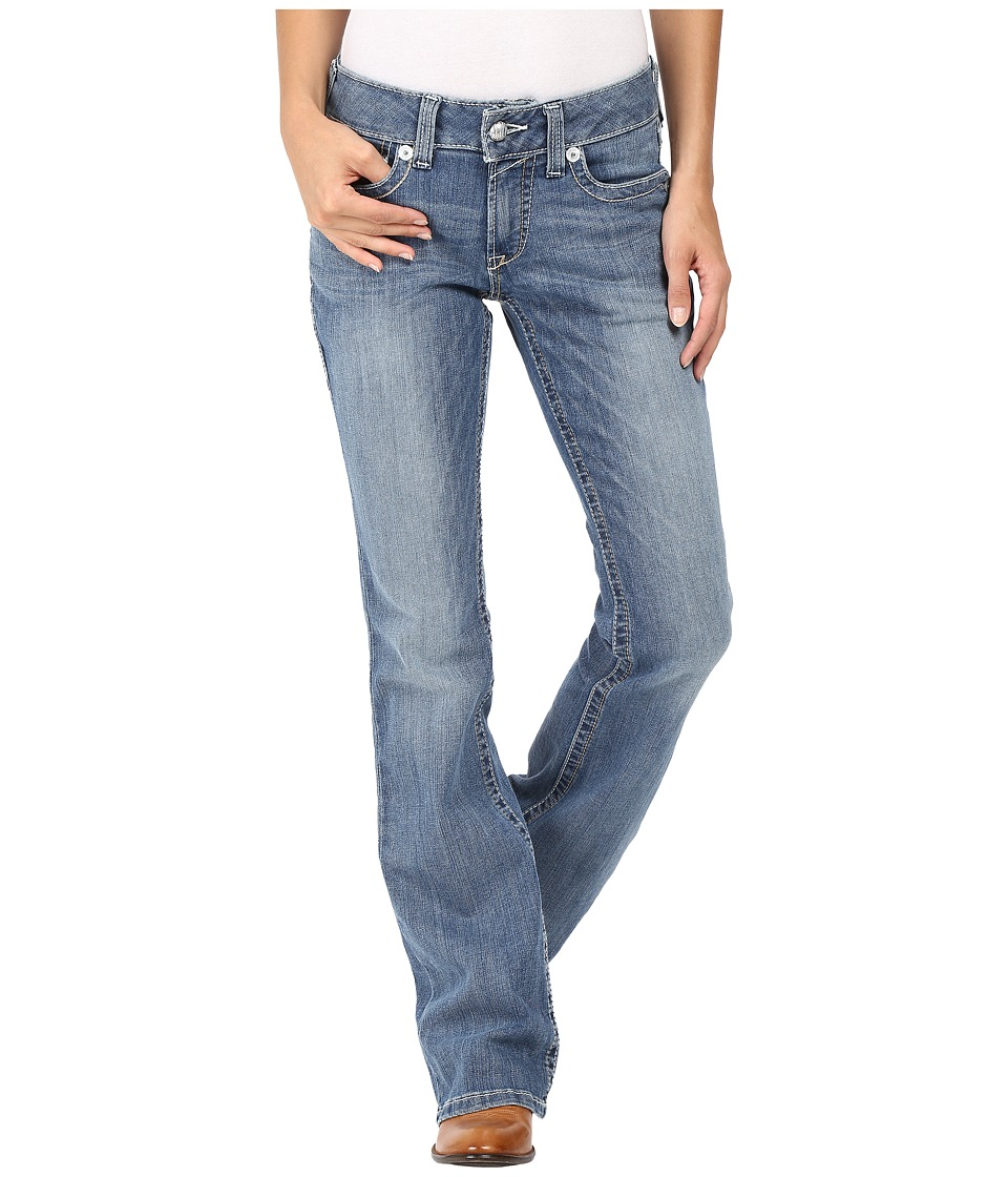 Ariat - R.E.A.L. Bootcut Crescent Jeans in Azure (Azure) Women's Jeans