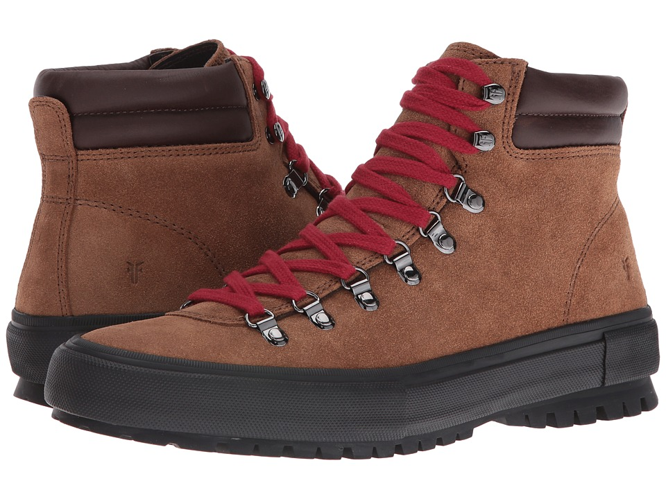 Frye - Ryan Lug Hiker (Fatigue Waxed Suede) Men's Lace up casual Shoes