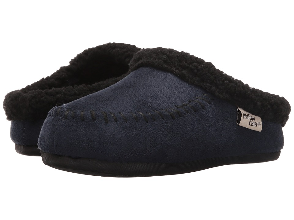 Western Chief Kids - Lodge (Toddler/Little Kid) (Navy) Boys Shoes