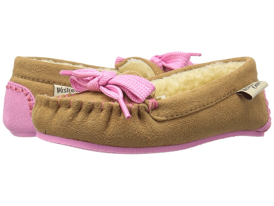 Western Chief Kids - Cozie (Toddler/Little Kid) (Chestnut) Girls Shoes
