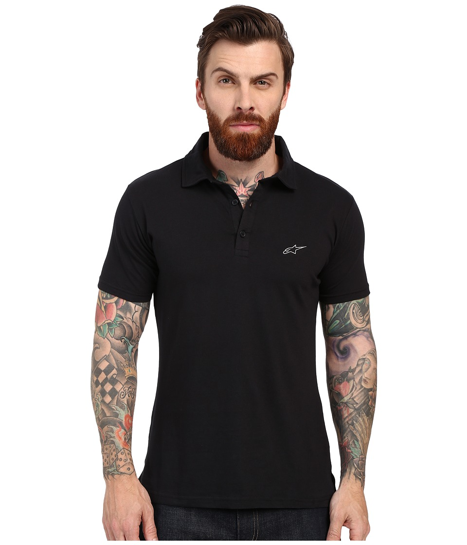 Alpinestars - Perpetual Polo (Black) Men's Clothing