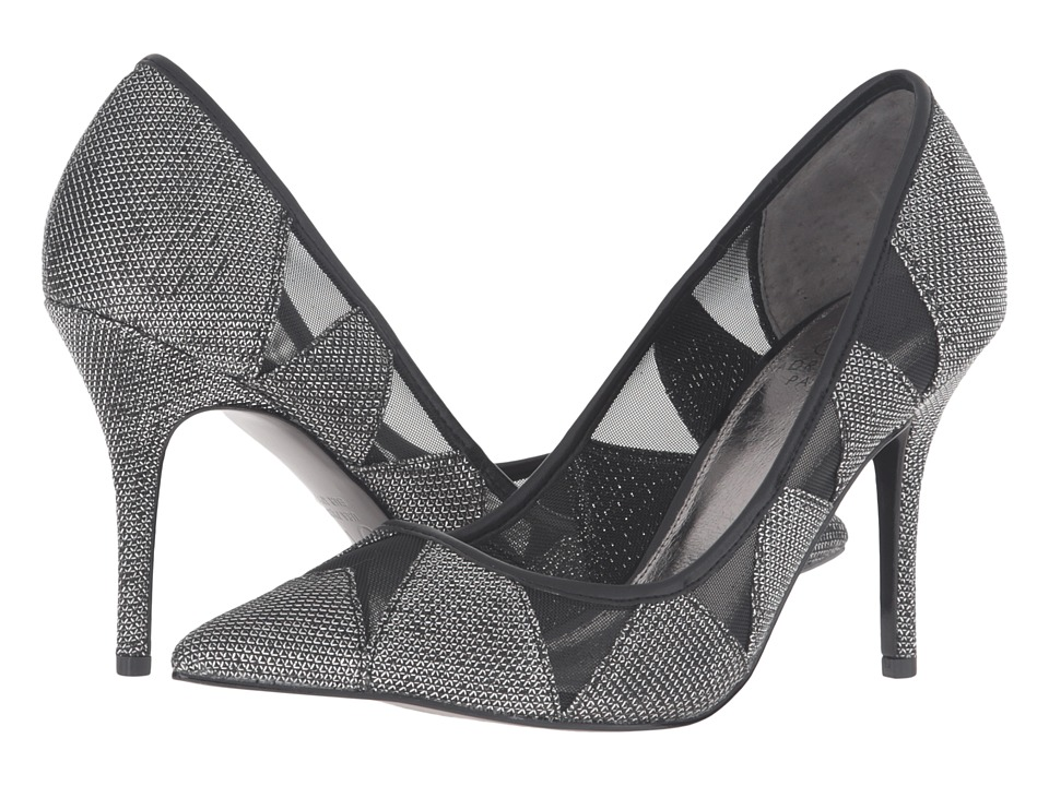 Adrianna Papell Addison (Pewter Jimmy Net) High Heels