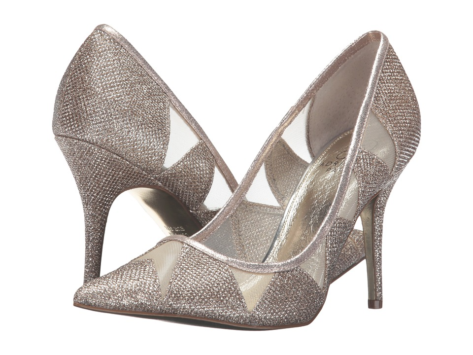 Adrianna Papell - Addison (Platinum Jimmy Net) High Heels