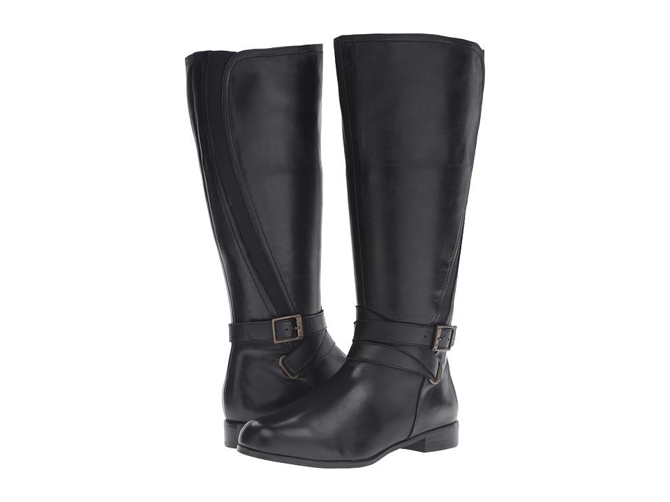 Walking Cradles - Tristan Wide (Black Nappa) Women's Shoes