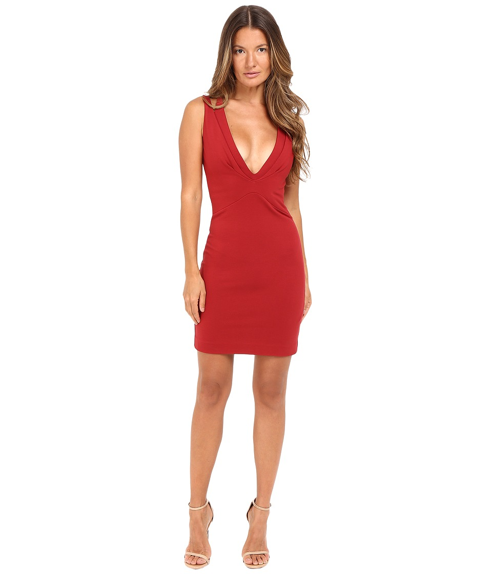 DSQUARED2 - Viscose Compact Dress (Red) Women's Dress