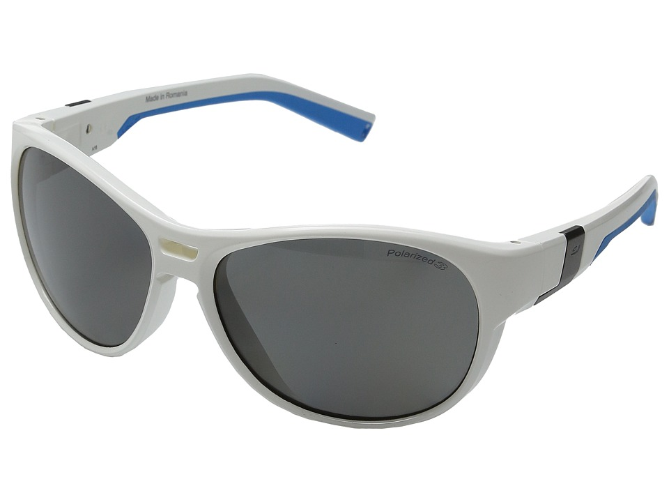 Julbo Eyewear - Shore (Shiny White/Light Blue) Sport Sunglasses