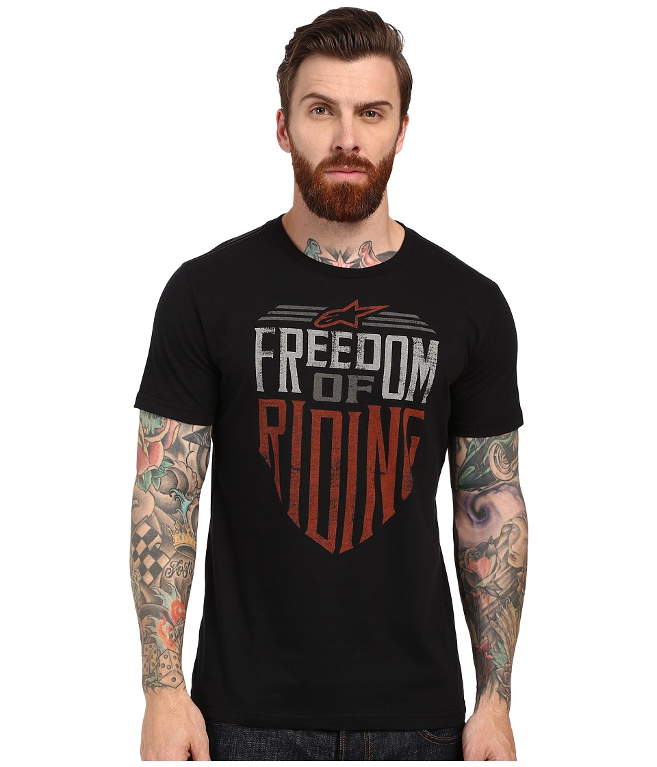 Alpinestars - Freedom Tee (Black) Men's T Shirt