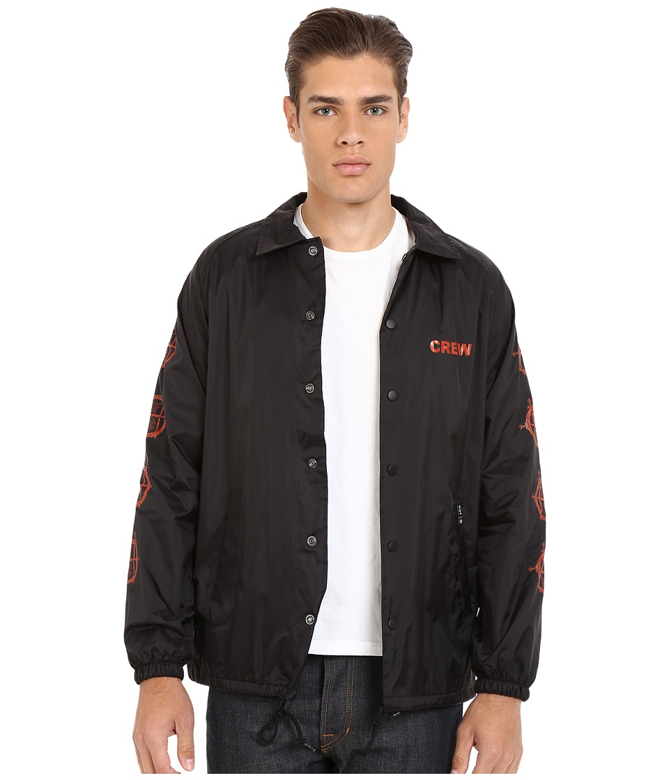 HUF - Vulture Coach Jacket (Black) Men's Coat