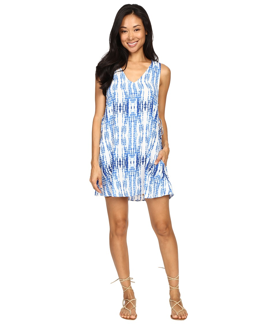 Lucy Love Tie Side Dress (Bondi Blue) Women